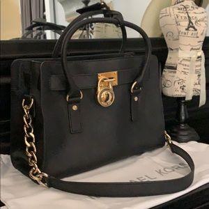 Michael Kors / Hamilton EW Satchel Leather